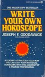 Write Your Own Horoscope - Joseph F. Goodavage