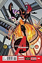 Secret Avengers #6 by Ales Kot