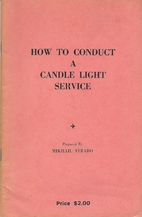 How to Conduct a Candle Light Service : A…