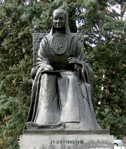 Author photo. Statue of Sor Juana Inés de la Cruz, Madrid, Spain.  Photo by user Sanbec / Wikimedia Commons.