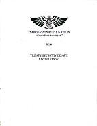 Tsawwassen First Nation treaty effective…