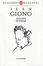 Romans et essais, 1928-1941 by Jean Giono