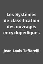 Les Systèmes de classification des ouvrages…