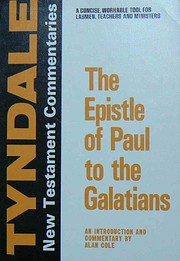 The Epistle of Paul to the Galatians: An…