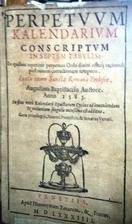 Perpetuum kalendarium conscriptum in septem…