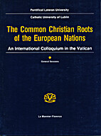 The common Christian roots of the European…