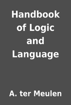 Handbook of Logic and Language by A. ter…