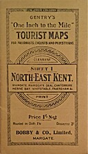 Gentry's One Inch to the Mile Tourist Map,…