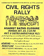Civil Rights Rally Against Bath Closure…