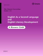 English as a Second Language and English…