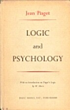 Logic and psychology by Jean Piaget