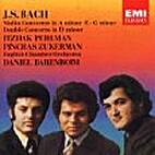 Violin concertos by J. S. Bach