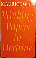 Working papers in doctrine by Maurice F.…