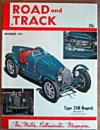 Road & Track 1951-11 (November 1951) Vol. 3…
