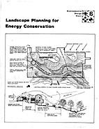 Landscape Planning for Energy Conservation…