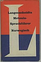 Metoula Sprachführer Norwegisch. by L.…