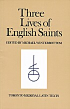 Three Lives of English Saints by Michael…