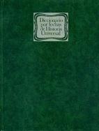 Diccionario por fechas de historia universal…