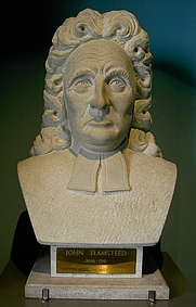 Author photo. Bust of Flamsteed in the Royal Greenwich Observatory. Photo by <a href=&quot;http://commons.wikimedia.org/wiki/User:Kdkeller&quot;>Klaus Dieter-Keller</a>.