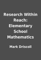 Research Within Reach: Elementary School…