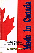 Made in Canada: Canadian Anecdotes for…