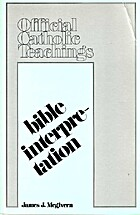 Bible interpretation (Official Catholic…