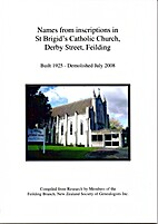 Names from inscriptions in St Brigid's…