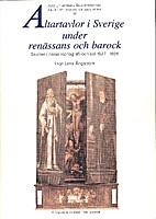 Altartavlor i Sverige under renässans…