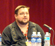 Author photo. Food and Comics panel, C2E2 2011, photo by <a href=&quot;http://www.librarything.com/profile/i_am_scifi&quot; rel=&quot;nofollow&quot; target=&quot;_top&quot;>Ian Levenstein</a>