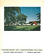 Contemporary Art- Acquisitions 1966-1969