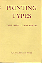 Printing Types, Their History Forms And Use…