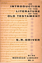An Introduction to the Literature of the Old…