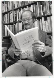 Author photo. Prof. Gerald Lynn Geison. Photo by Robert Bielk, 1977 (photo courtesy of Princeton University)