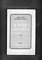 La Nouvelle Gazette Rhenane. (Neue…
