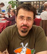 Author photo. Johan Heliot (by Ji-Elle, 2010)