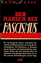 Goliath The March of Fascism by Giuseppe…