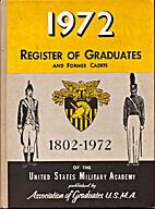 1972 Register of Graduates and Former Cadets…