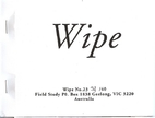 Wipe No. 23 by David Dellafiora