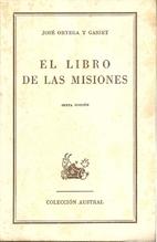 El libro de las misiones by José Ortega y…