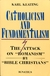 book cover: Catholicism and Fundamentalism.