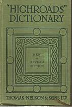 Highroads English Dictionary, Pronouncing…