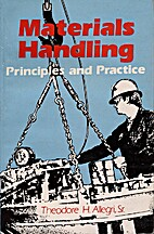 Materials Handling: Principles and Practice…