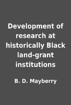 Development of research at historically…