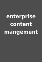 enterprise content mangement