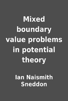 Mixed boundary value problems in potential…