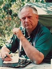 Author photo. Jack Vance