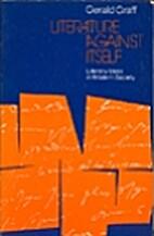 Literature Against Itself: Literary Ideas in…