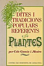 Dites i tradicions populars referents a les…