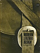 Modern leather design by Donald J. Willcox