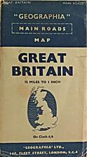 Geographia Main Roads Map Great Britain 15…